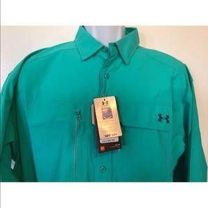 Under Armour UA Men's XL heat gear shirt upf 50